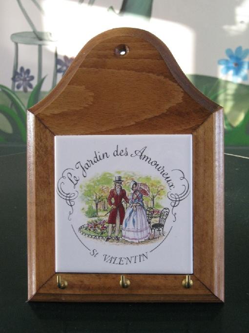 ACCROCHE CLEFS, Jardin des Amoureux