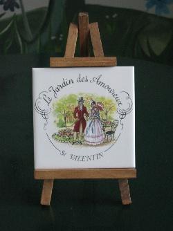 DECOS DE BUFFET, Chevalet Jardin des amoureux